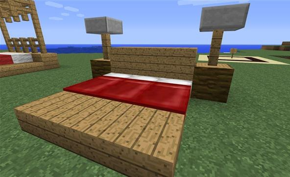 How To Make A Night Stand In Minecraft