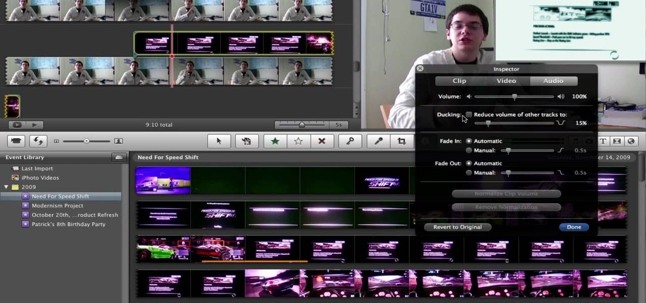 How to Remove (detach) audio from video in iMovie « iMovie