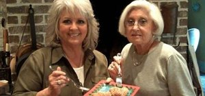 Cook sweet potato balls with Paula Deen for Christmas