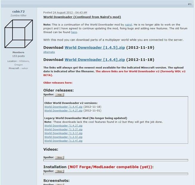 Minecraft Cracked 1.3.1