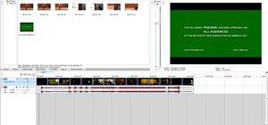 Begin using Sony Vegas