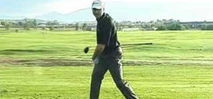 Get the proper width in your golf stance