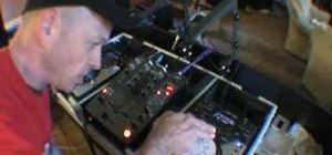 Spin back on a CDJ turntable
