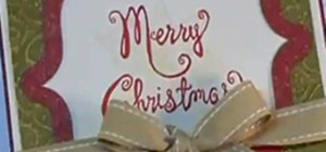 Make DIY Christmas Cards for the Holidays (Personalized Merry Christmas Wishes)