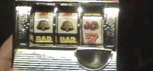 Hack a toy slot machine