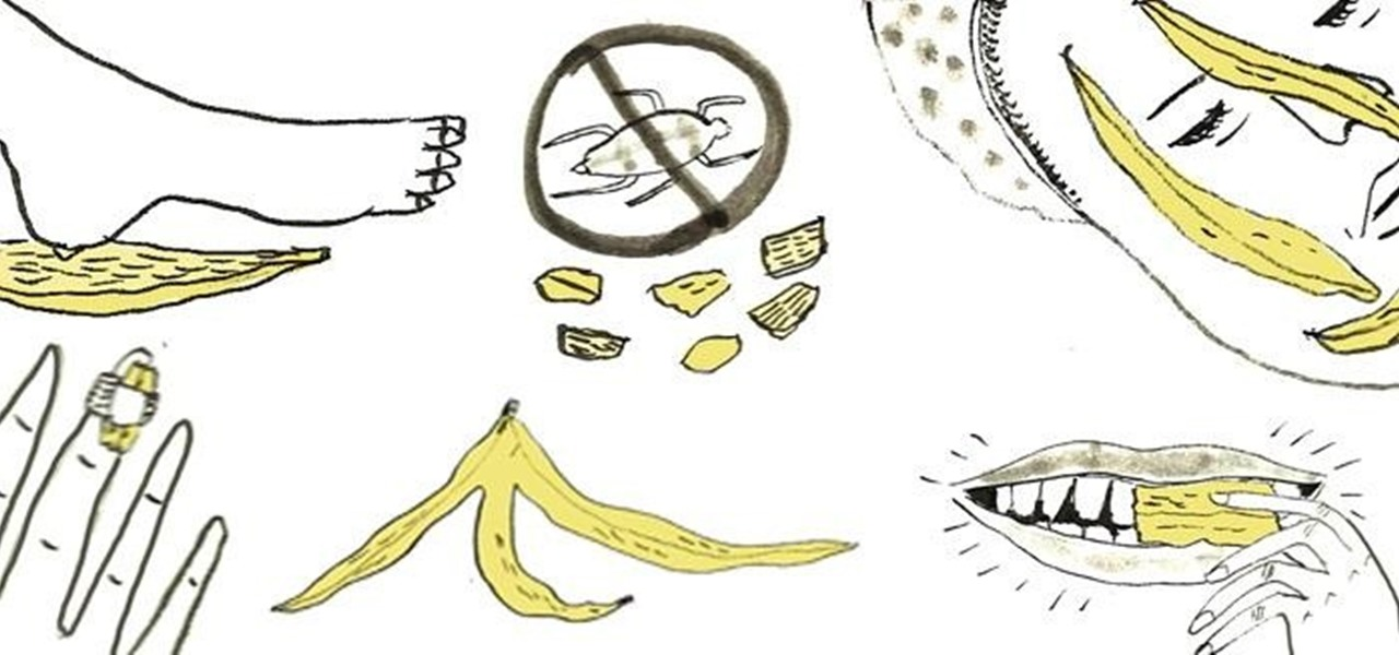 10 Weirdly Useful Things You Can Do with Banana Peels