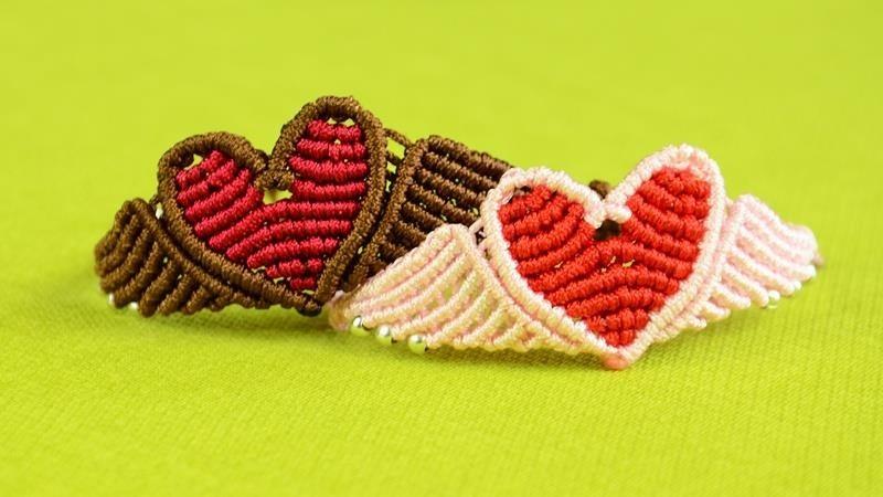 How to Flying Heart Bracelet