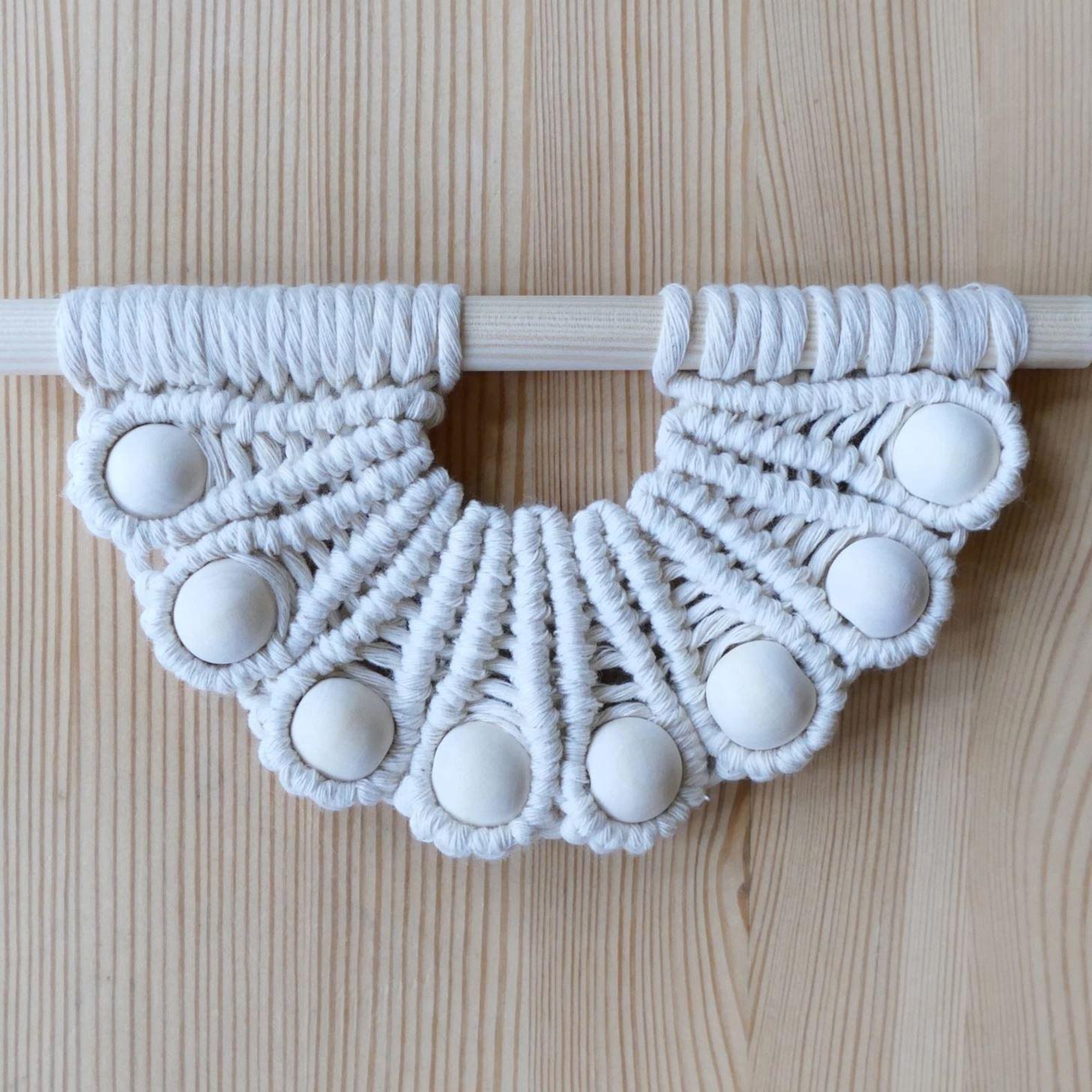 Macrame Seashell Pattern Tutorial