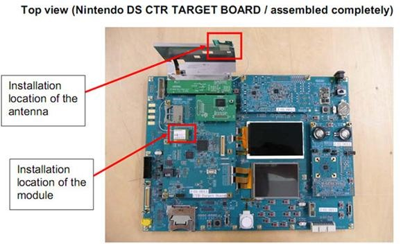 Nintendo 3DS motherboard leaked