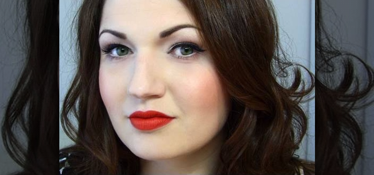 how to create a 50s pin updita von teese inspired makeup