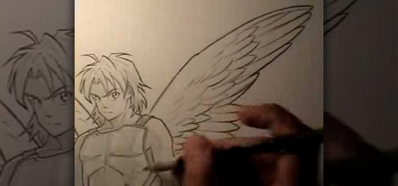 How To Draw Wings With Anime Drawing Instructor Mark Crilley