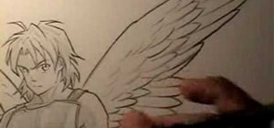 Draw wings with anime drawing instructor Mark Crilley