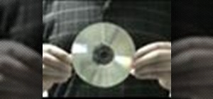 Remove CD scratches with a banana