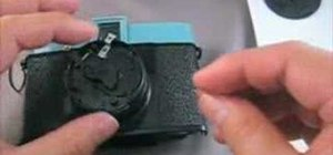 Repair a Lomography Diana camera shutter