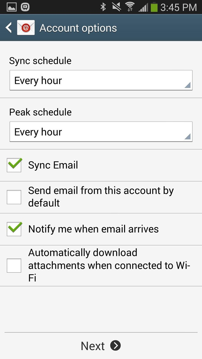 How To Add Your Icloud Email Account To Your Galaxy Note 3 Or Other ...