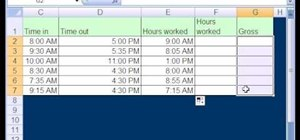 Use Excel date math & time formatting