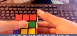 Use the ZBF2L algorithms to solve the Rubik's Cube