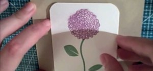 Use clear stamps & make a card