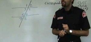 Understand parallel lines & transversals