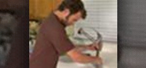 Replace a faucet easily