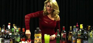 Mix a Pearl Harbor cocktail with vodka, melon liqueur and pineapple juice