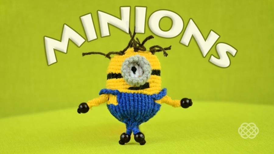 How to Make Macrame MINIONS