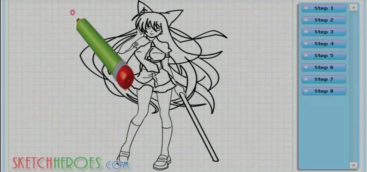 Draw Ibuki Ikaruga