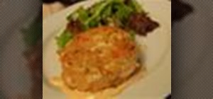 Make New Orleans style Creole seasoned crab cakes