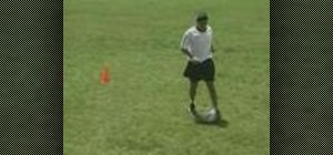Perform the Jab Step soccer move