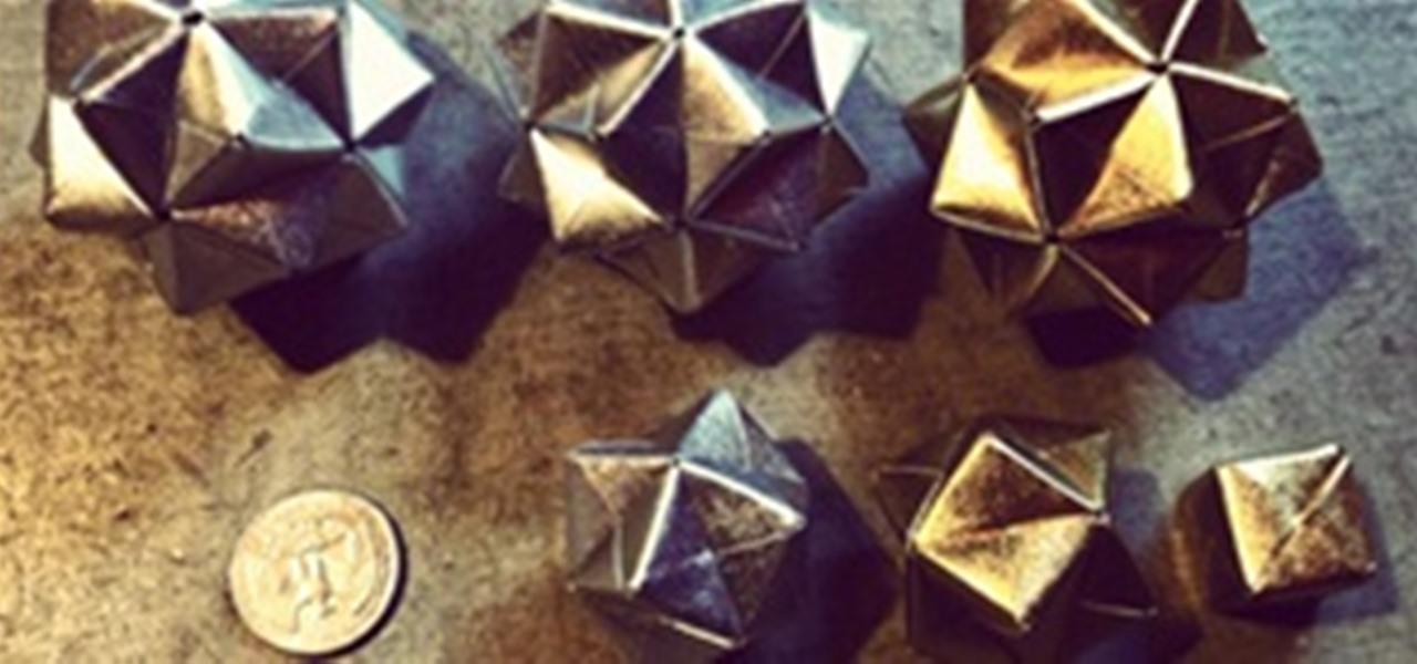 DIY Modular Origami Christmas Ornaments