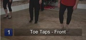 Perform tap dance steps for beginners