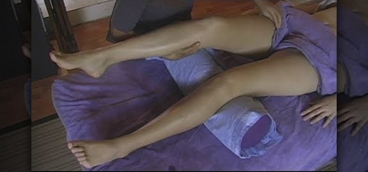 How To Massage The Legs When Giving Someone A Full Body -9664