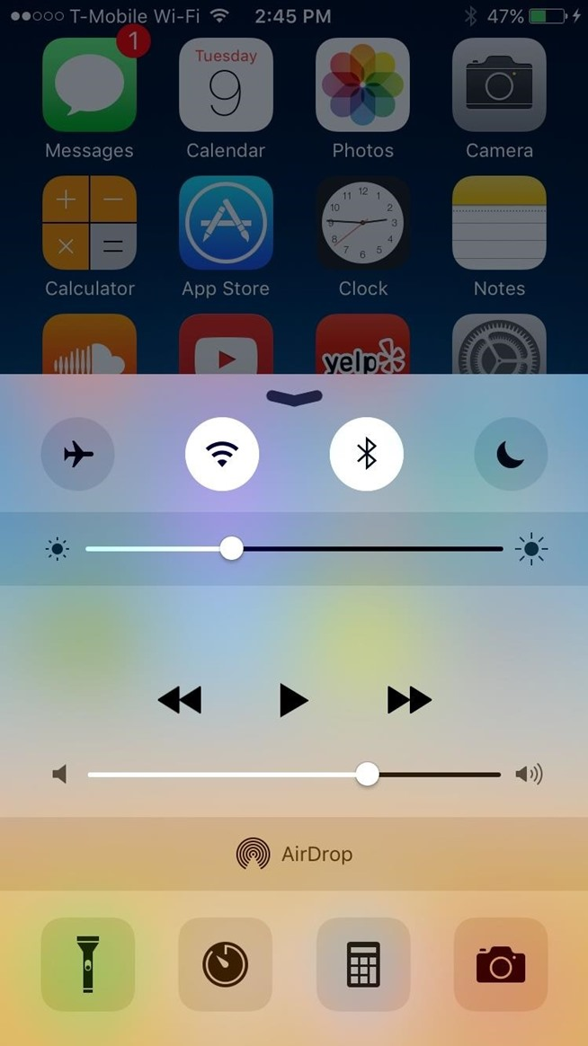 How to Use the Ring/Silent Switch to Lock Screen Rotation on Your iPhone in iOS 9