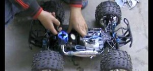 Deal with a flooded Nitro engine on an RC vehicle