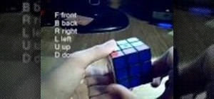 Use and understand Rubik's Cube notation