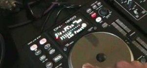 Use the filter on a Denon DN-S1200 mixer