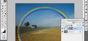 Create a rainbow in Photoshop
