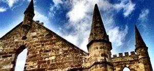 Convict Built Church HDR (Port Arthur)