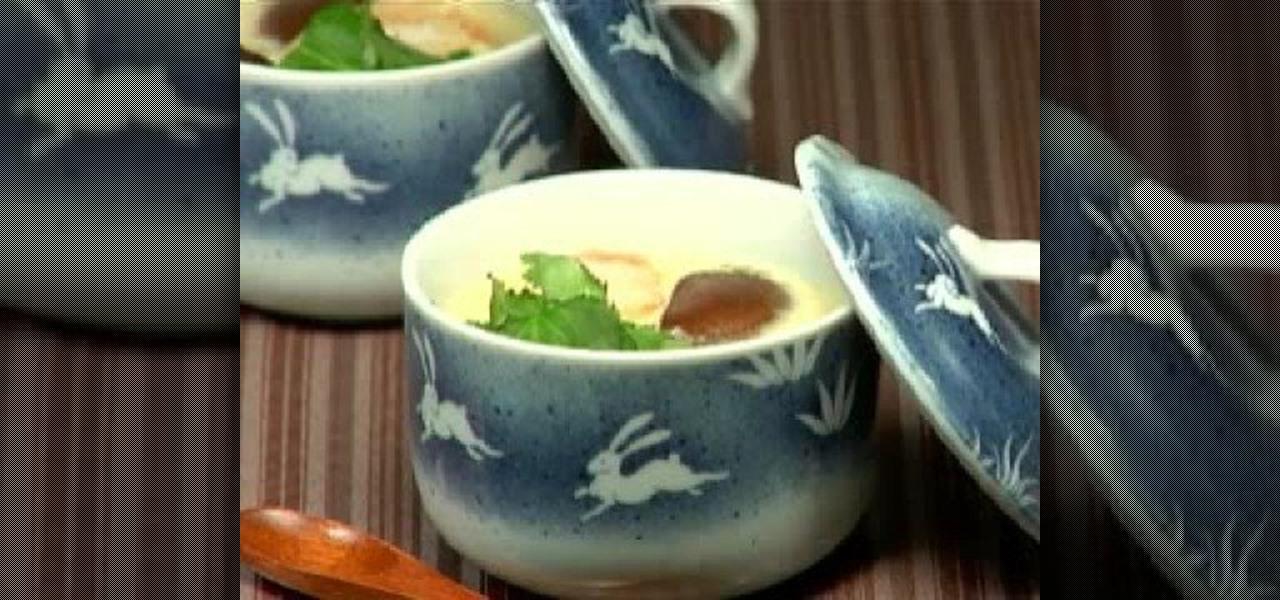Japanese Towel Cake Recipe: How To Make Chawanmushi (Japanese Egg Custard Dish