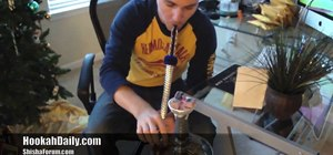 Set up your hookah for the first time