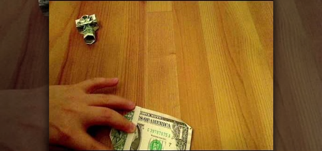 How to fold an origami camera using nothing but a dollar for Kitchen yoshimoto summary