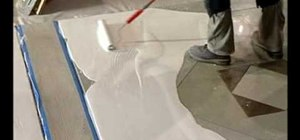 Use a turbo roller for a concrete overlay