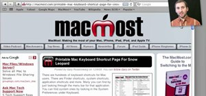 Find and open downloaded files on a Mac OS X computer