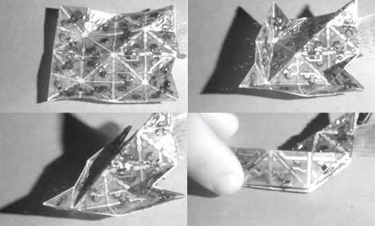 It's a Bird, It's a Plane–It's a Self-Folding Origami Robot