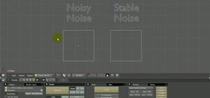 Create stable procedural noise textures in Blender