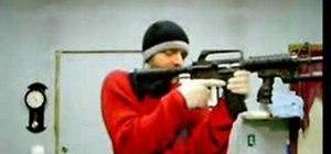 Modify and break down a DPMS AR-15 firearm