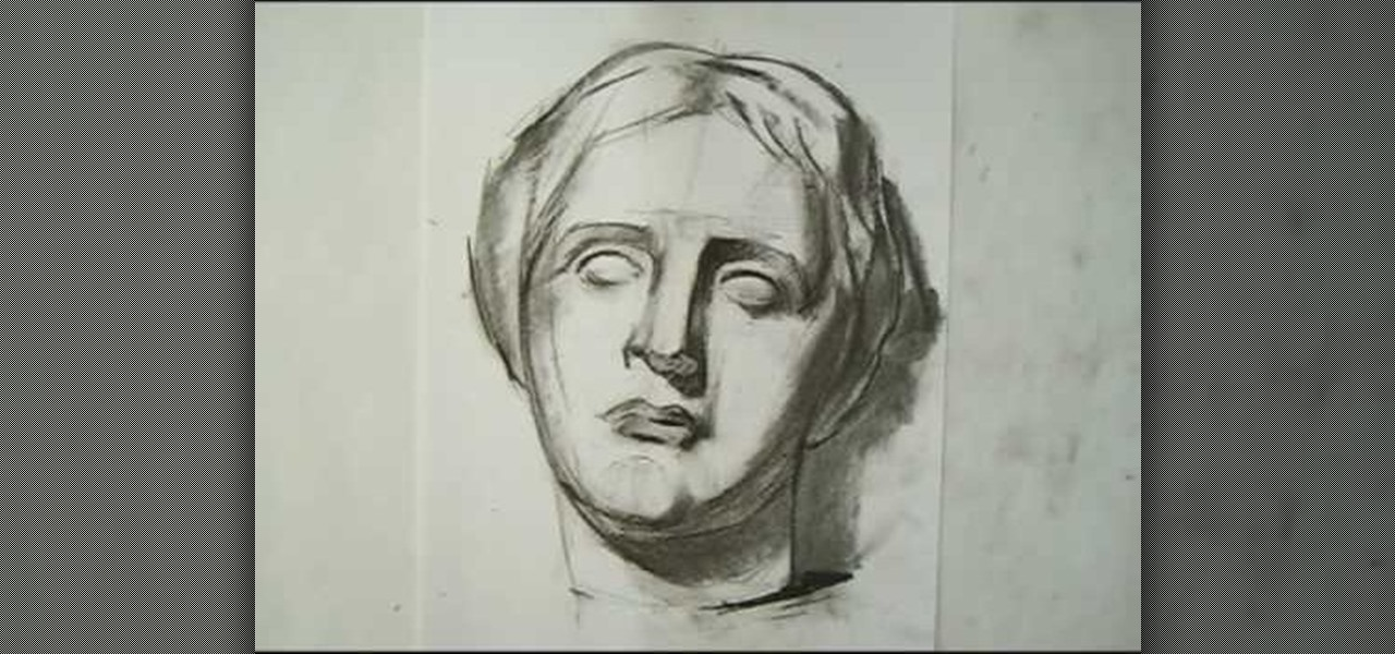 How To Draw A Classical Portrait 171 Drawing Amp Illustration