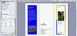 Create a brochure in Microsoft Publisher