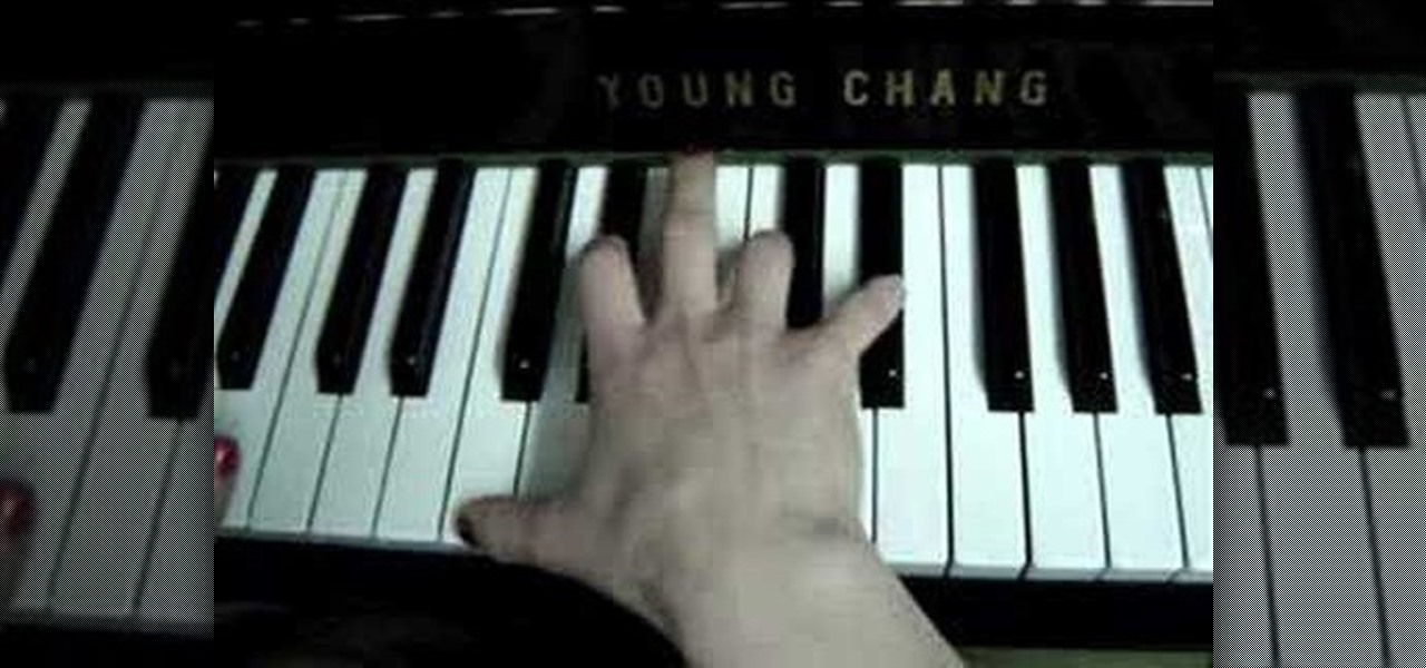 How To Play Lean On Me On The Piano Piano Keyboard Wonderhowto