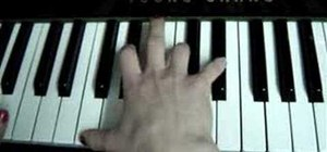 "Play the song ""Bad Day"" by Daniel Powter on piano"